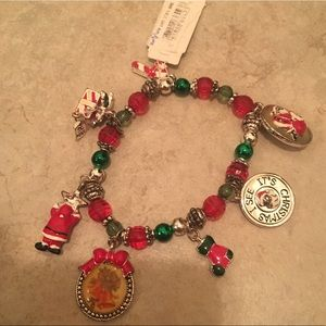 Christmas charm bracelet from Blue Tulip
